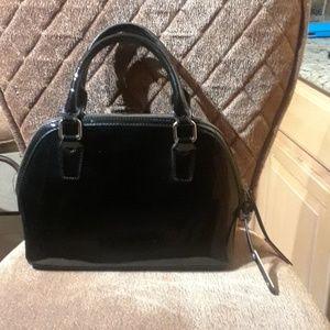 BCBG Paris Black Satchel Bag